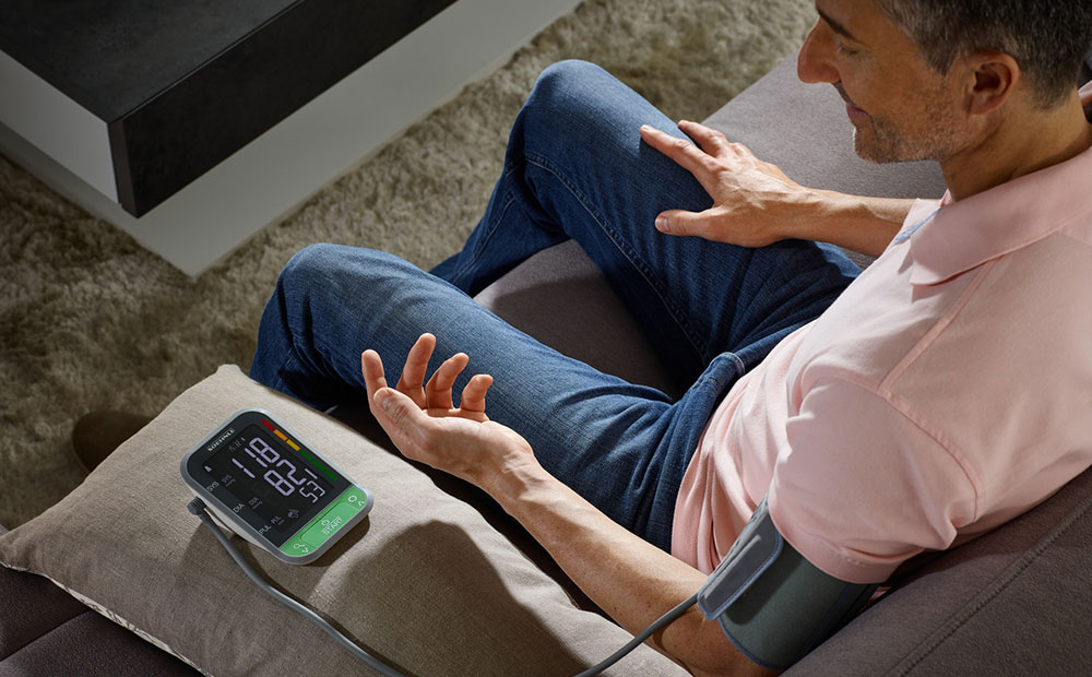 """Soehnle's blood pressure gauges are """"connected"""""""