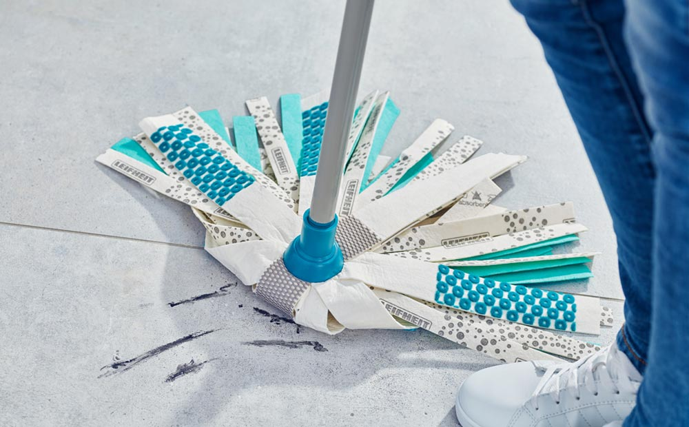 3-way power with the new Leifheit Mop