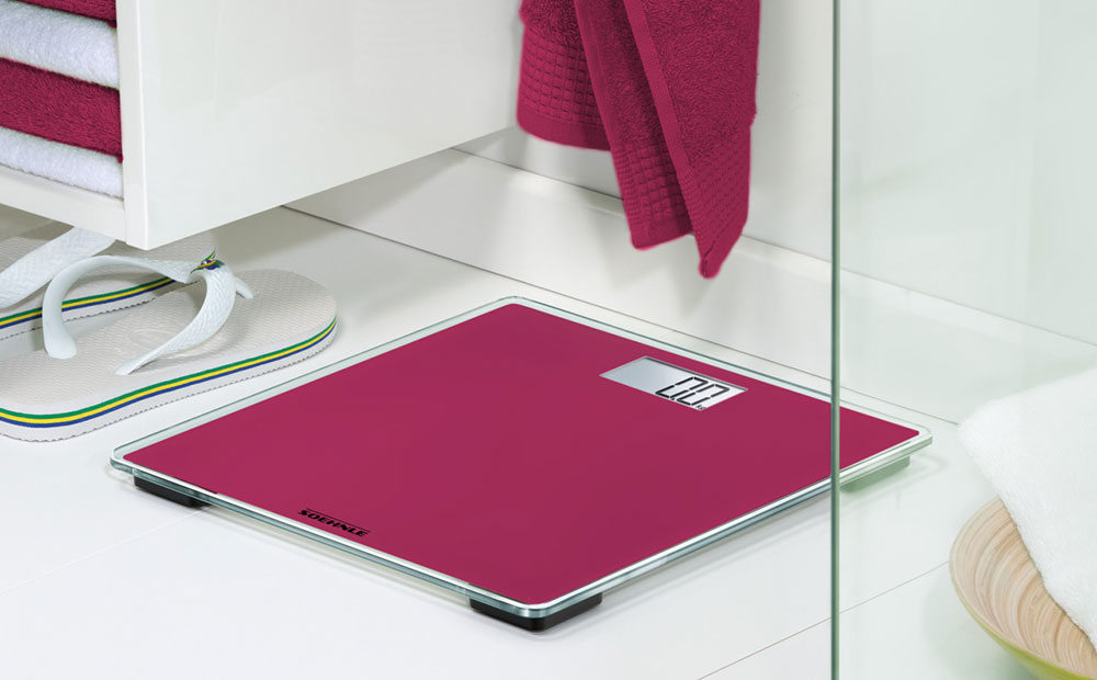Stylish colour designs provide fashionable accents for scales
