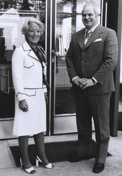 Ingeborg und Günter Leifheit