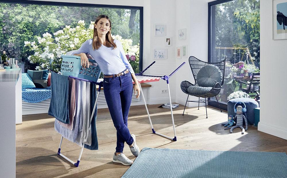 Wäscheaufhängen in der Wohnung – aber richtig!