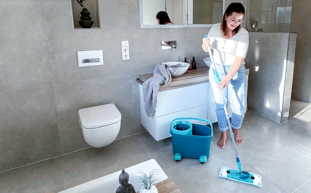 Unentbehrlich beim Bad-Putz